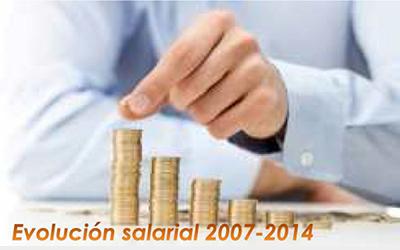 """Estudio """"Evolución de las Retribuciones durante la crisis 2007-2014"""""""