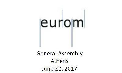 Reunión EUROM (22 de junio 2017 - Atenas)