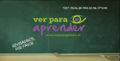 Comienza la segunda edición de la campaña Ver para Aprender